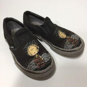 Vans Peanuts Pigpen Skater shoe 11.5Y Boys